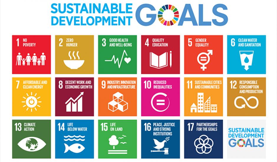 The 17 Global Goals for a better, fairer world