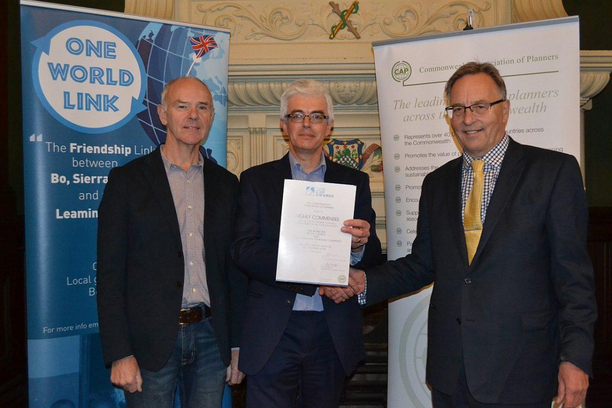 International award for OWL planners
